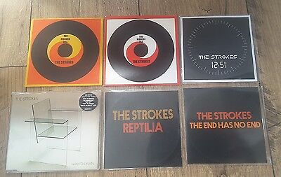 The Strokes Rare 6 X Cd Single & Promo Lot Is This It Modern Age Kings Of Leon