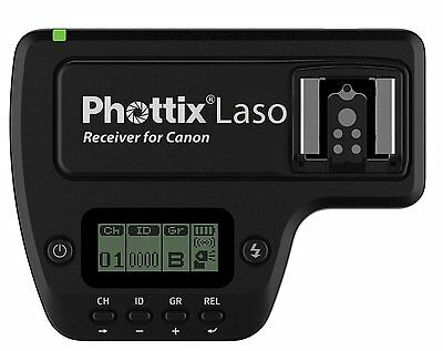 Phottix Laso TTL Flash Trigger Receiver (PH89091) for Canon - Photographic Equip