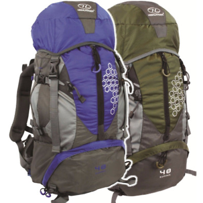 Summit 45 Litre Rucksack Daysack Walking Hiking Hydration port Air vented