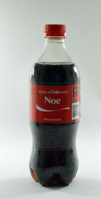 Share a Coke with Noe  20 fl oz Collectible Bottle Rare Unopened Coca-Cola