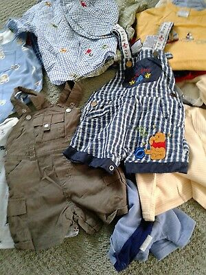 Lot of 17 Infant Boys Mixed Size 6-9 Months - Carter's, Little Me and more
