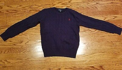 Polo by Ralph Lauren Blue Sweater Size M(12/14)