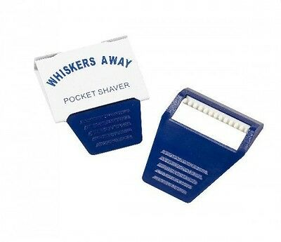 Equi-Essentials Whiskers Away Pocket Shaver PK10 Navy -