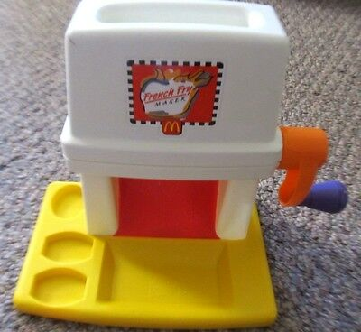 Vintage 1993 McDonnalds French Fry Maker Toy Machine Only 10567-2319