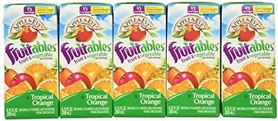 Apple and Eve Fruitables, Tropical Orange, 8 Count (Pack Of 5)