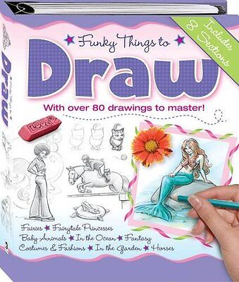 Funky Things to Draw,  | Hardcover Book | Acceptable | 9781741829372