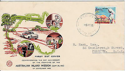 1962 - Australia - Australian Inland Mission - First day cover