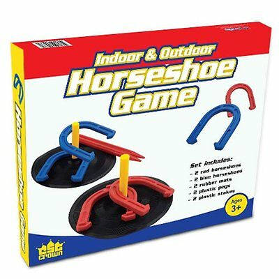 Horseshoe Horse Shoe Toss Kids Game Family Sports Outdoor Fun Accurate Birthday