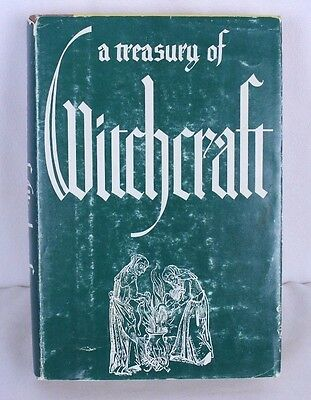 A Treasury of Witchcraft VTG 1961 by Harry E Wedeck