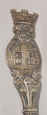 "Rare 5"" Antique David Andersen 830S Silver Souvenir Spoon"