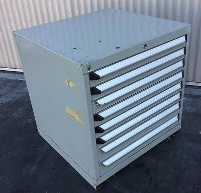 ROUSSEAU 8 DRAWER CABINET INDUSTRIAL TOOL BOX STORAGE LISTA,VIDMAR Type 30x29x32
