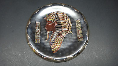 L@@K Vintage Egyptian pharaoh Handmade COPPER PLATE Decorative PLAQUE