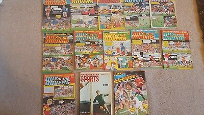 Roy of the Rovers Vintage Comic Joblot x11, 1983/1984 + 3  other publications.