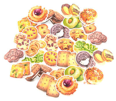 30 piece waterproof cookie stickers lot for junk bullet journal laptop bottle