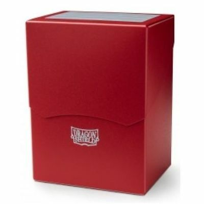 Deck Shell / Deck Box / Deckbox Dragon Shield 100+ Cartes -  Rouge / Red