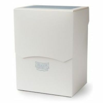 Deck Shell / Deck Box / Deckbox Dragon Shield 100+ Cartes -  White / Blanc