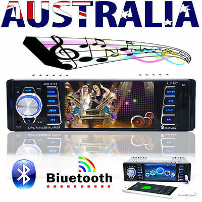 4.1 HD Bluetooth Car Radio Audio Stereo MP5 Player FM/USB Steering Wheel Control