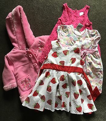 Girls Dresses And Jacket Size 1 - 2
