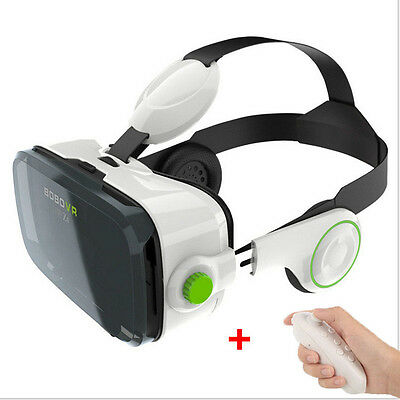 Genuine BOBO Z4 VR Box 120°Virtual Reality Headset 3D Private Movie Game Theatr