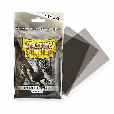 Dragon Shield - X100 Deck Protector Sleeves / Protèges Cartes Perfect fit Smoke