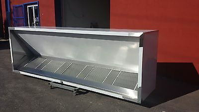 BRAND NEW 2.4m COMMERCIAL CANOPY COMPLETE WITH MOTOR & DUCT