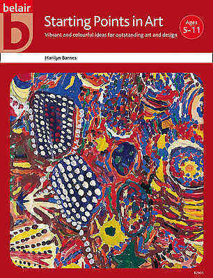 Starting Points in Art (Belair - A World of Display), Good Condition Book, Maril