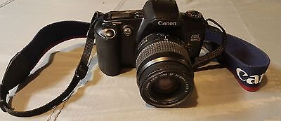 Canon Rebel EOS-G SLR Film Camera with 28 to 80mm Zoom Lens w/ Strap