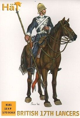 HaT 8181 - 17th British Lancers                  1:72 Figures/Wargaming
