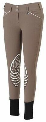 Equine Couture Brittni Knee Patch Breeches Ladies