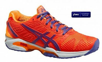 ASICS Tennis Gel Solution Speed E450Y 0633 Women Tennis Shoes