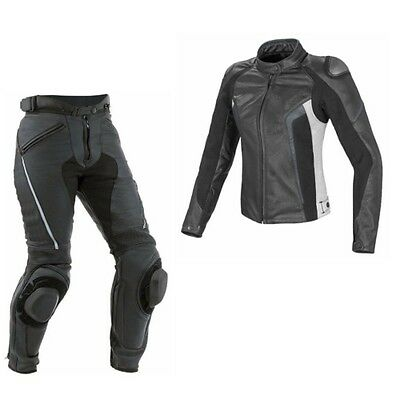 Ladies MotoGp MotorBike Racing Leather Suit Sports Motorcycle  Leather Suit