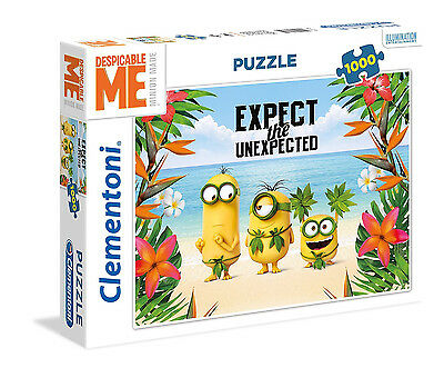 Clementoni Puzzle 1000 Teile Minions: Expect the Unexpected (39374)
