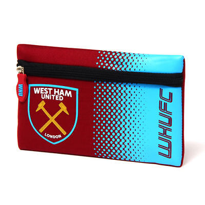 West Ham United Pencil Case School Fan Gift Official Licensed Football Product