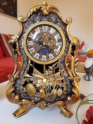 Disney store japon limited edition beauty and the beast big ben cogsworth