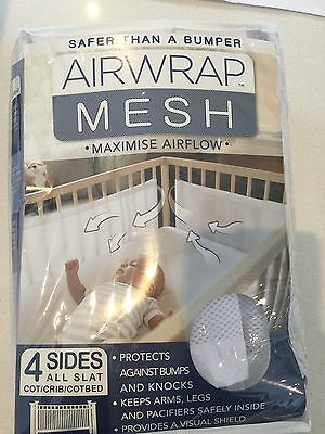 Air wrap Mesh Cot Bumper
