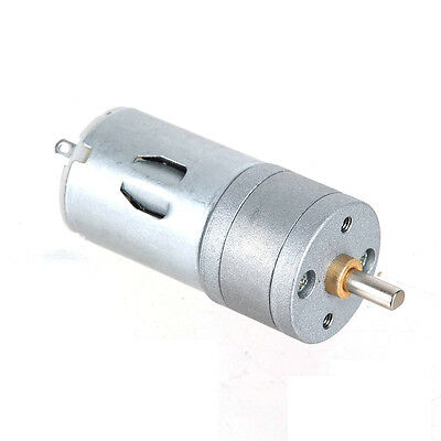 25GA-1200 DC 12V 1200RPM / DC 6V 600RPM Powerful High Torque Gear Box Motor