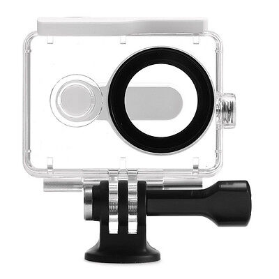 PC White + Transparent Waterproof to 40m underwater Housing Case for Xiaoyi