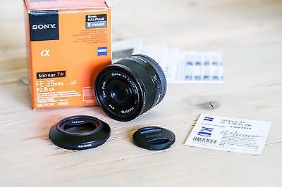 Sony Zeiss Sonnar T* FE 35mm f/2.8 ZA Lens