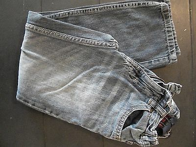 Boys Blue Jeans size 10 by Urban Pipeline Slim Straight Distressed Adj Waist