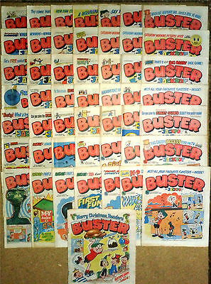50x Vintage Buster Comics 1982 IPC Publishing
