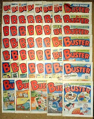 53x Vintage Buster Comics 1983 * Complete Year IPC Publishing