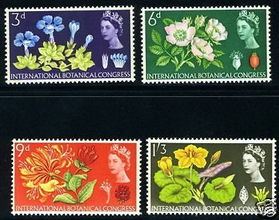 Great Britain Sc 414P-7P Phosphorescent Never Hinged