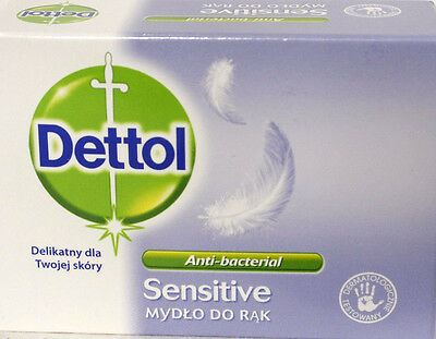 Dettol Soap  - Sensitive - 100g - Anti-bacterial