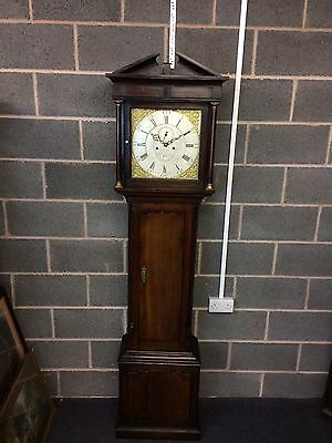 ANTIQUE WELSH LONGCASE GRANDFATHER CLOCK BY Watkin Owen