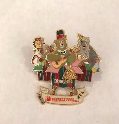 Disney Pin Pins DLR - Magical Milestones - 1984 - Country Bear Christmas Special