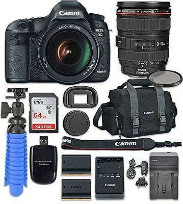 Canon EOS 5D Mark III Digital SLR Camera with Canon EF 24-105mm f/4L IS USM Lens