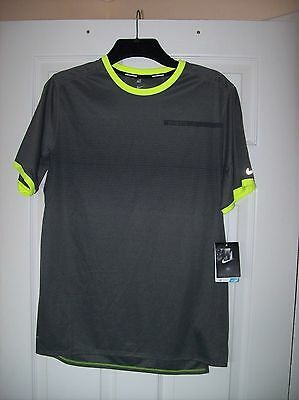 Nike Running Dri-Fit Tee Shirt Men's Size Medium ''new With Tags''