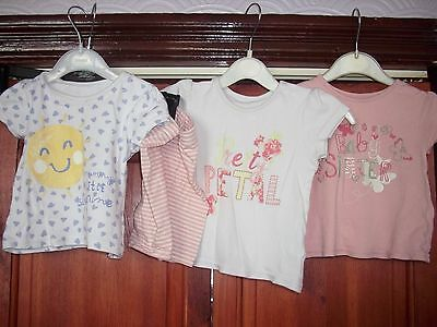 4 items of baby girls clothes age 6-9 months