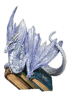 White Fang  Bookwyrms Dragon Figuirne Retired - Rare Andrew Bill Dragonsite