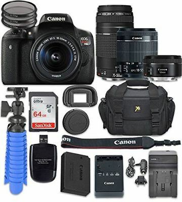 Canon EOS Rebel T6i Digital SLR Camera with Canon EF-S 18-55mm f/3.5-5.6 IS STM